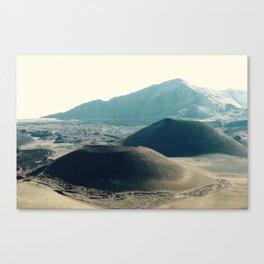 Crater at Sliding Sands Trail, Haleakalā National Park Maui Canvas Print