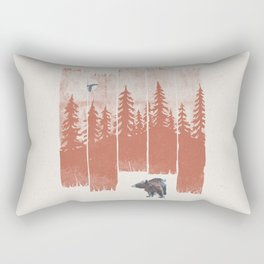 A Bear in the Wild... Rectangular Pillow