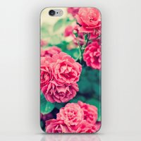 flora iPhone & iPod Skins featuring Flora by Laura Ruth