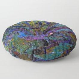 Water Lilies by Claude Monet Floor Pillow