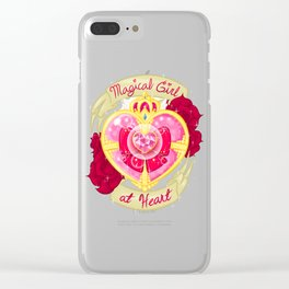 Magical Girl At Heart Clear iPhone Case