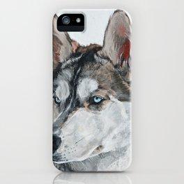Calm Look iPhone Case