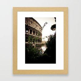 the collosseum Framed Art Print