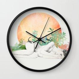 Born In The Sun (Scorpio) Wall Clock