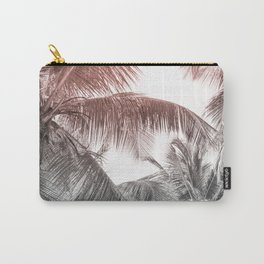 High palms on a tropical beach Carry-All Pouch