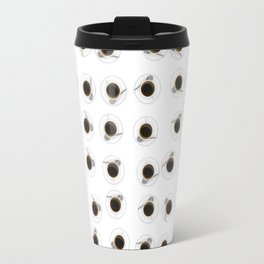 Coffee cups / 3D render of hundreds of cups of coffee Travel Mug