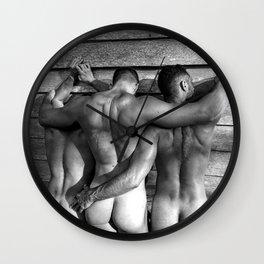 Threesome Wall Clock
