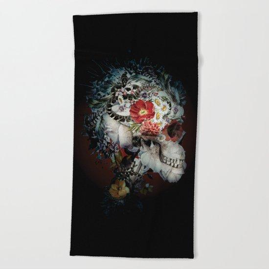 Skull I Black Series Beach Towel