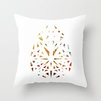 prism Throw Pillows featuring Prism  by Tayler Kiiim