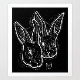 Dalliance Art Print