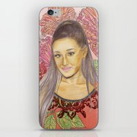 ariana grande iPhone & iPod Skins featuring Ariana II by Share_Shop
