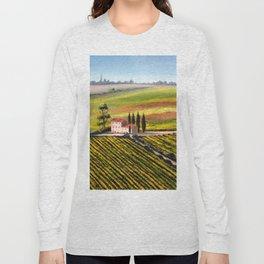 Vineyards In Tuscany Italy Long Sleeve T-shirt