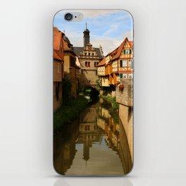 Medieval Village Reflection iPhone Skin