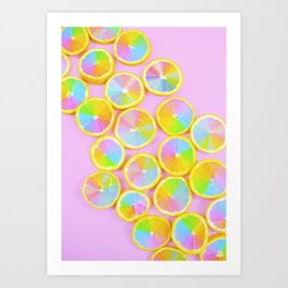 Unicorn Fruit Art Print