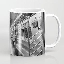 NYC subway N train Coffee Mug