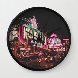 Movie Land in Niagara Falls Wall Clock