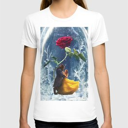 Beauty and the Beast-Rose T-shirt
