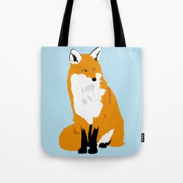 Red Fox (Light Background) Tote Bag