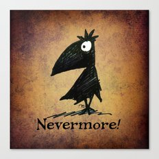 Nevermore! The Raven - Edgar Allen Poe Canvas Print