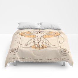 Vitruvian Aang Comforters