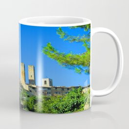 The Towers of San Gimignano Coffee Mug