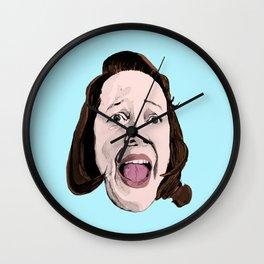 Crazy Annie Wilkes - Misery (Blue) Wall Clock