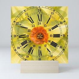 The Power of Petals 2...The Clock! Mini Art Print