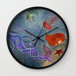 Le meduse Wall Clock