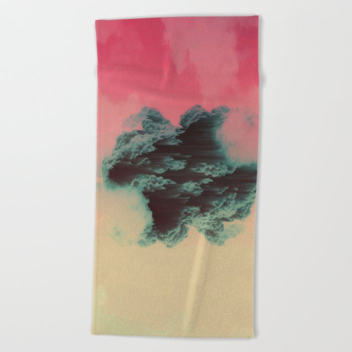 dissipate Beach Towel