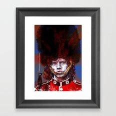 ROYAL'N' ROLL Framed Art Print
