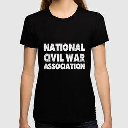 American History T Shirts Civil War Association T-shirt