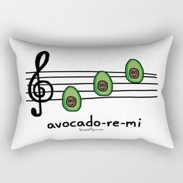 avocado-re-mi Rectangular Pillow