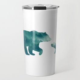Bears Forest Travel Mug