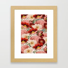 Vintage Garden #society6 Framed Art Print