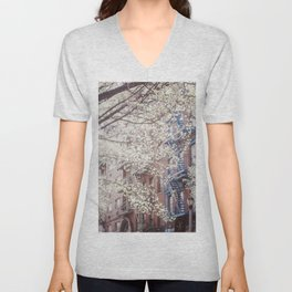 Blossom of East Village Unisex V-Neck