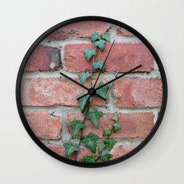 Crawling Ivy Wall Clock