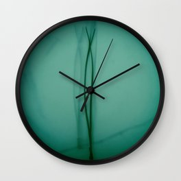 Shadows of the Past Wall Clock