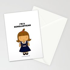 I'm A Scholastican Stationery Cards