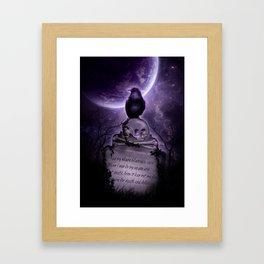 Crow Spirit Framed Art Print
