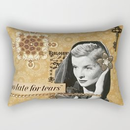 Too Late For Tears Rectangular Pillow