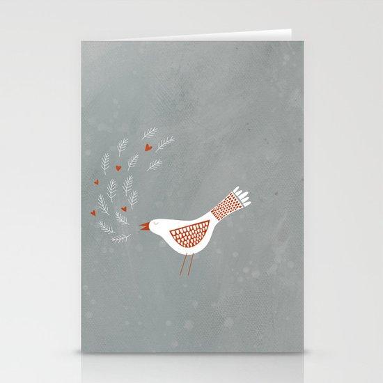 La la la Stationery Cards