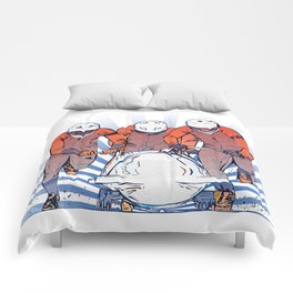 Cool Runnings - Bobsleigh 4 men team Comforters