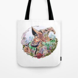 Cranberry woodsman Tote Bag