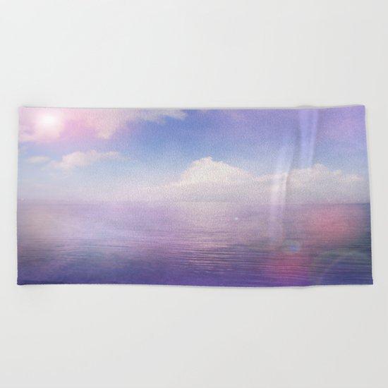 Tranquil Lake Beach Towel