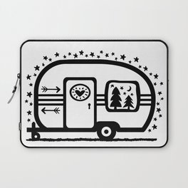 Home Is Where We Roam Rv Camper Road Trip Laptop Sleeve