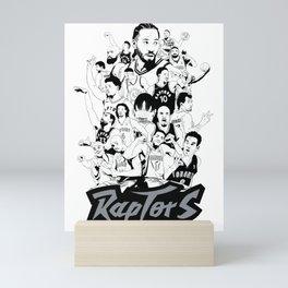 1995-2019 Raptors Mini Art Print