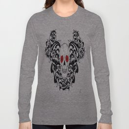 gothic skull Long Sleeve T-shirt