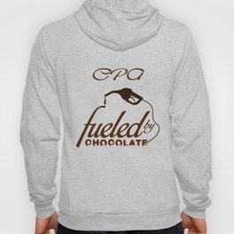 CPA T-Shirt Funny Fueled By Chocolate Lover Gift Hoody