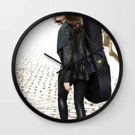Walking Wall Clock