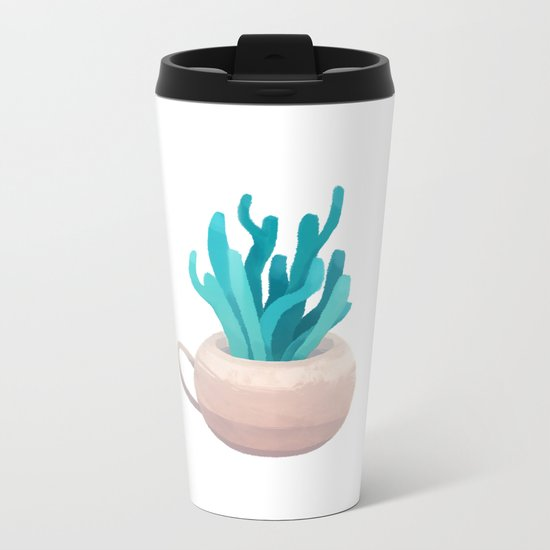 small vase I Metal Travel Mug